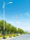 iluminación solar de acero de la calle LED de 20W poste