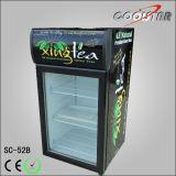 وحيدة زجاجيّة باب شراب علبة عرض مبرّد ([سك52ب])