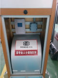 Porta telescópica automática da entrada principal da fábrica