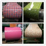 Die beschichtete Farbe galvanisierte Stahlring PPGI (Blumenmuster)