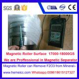 Separador magnético do rolo para o silicone, maquinaria de mineral de quartzo