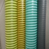 Boyau renforcé par spirale en plastique de conduite d'eau de jardin de poudre d'aspiration de PVC