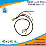 Chicote de fios eletrônico feito sob encomenda do fio com o conetor da carcaça de Jst Molex