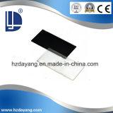 黒い溶接ガラスかレンズの製造業者からの安全ガラス3mm