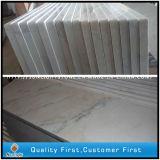 Mattonelle di pavimento di marmo bianche naturali Polished della cucina e della stanza da bagno di Guangxi