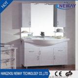 Пол высокого качества стоя шкаф ванной комнаты зеркала PVC