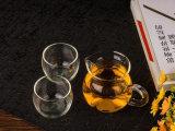 Bac de thé de diviseur en verre de thé de résistance thermique mini