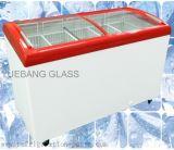 全ABS注入のガラスドアの箱のフリーザー