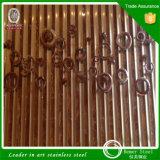 Divisor de quarto de dobramento da tela do aço inoxidável de fabricação de metal da folha de China