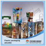 Прозрачная коробка подарка PVC пластмассы