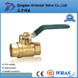 1/4, 3/8, 1/2 NPT Pneumatic Cheap Brass Ball Valve will be Water Air Oil and Gas