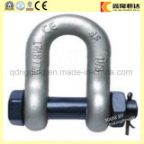 High Tensile Steel Us Type Drop Forged Chain Bow Shackle