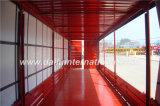 De la visión de una imagen más grande de Van Style Curtain de la cara acoplado ligero de Curtainside del acoplado semi para la venta