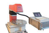 drehen kleine Laser-Markierungs-Maschine der Faser-20W für Markierung
