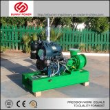 bomba de água 6-12inch Diesel para a irrigação/inundação que drena com reboque