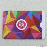Cartão do PVC do tamanho padrão com impressão feita sob encomenda