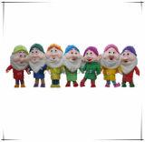 Costume realmente popolare del fumetto della mascotte dei sette nani