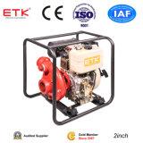 """"""" bomba de agua diesel 1.5 con el motor diesel 7HP (caja de oro del ventilador)"""