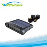 Auto TPMS para qualquer carro, sistemas de segurança de quatro rodas com sensores internos ou externos