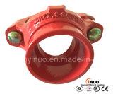 Тройник дуктильного утюга высокого качества FM/UL/Ce Grooved механически