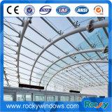 paredes de cortina de vidro estruturais de 5+9A+5mm