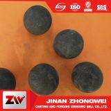 Bolas de acero de pulido de la laminación en caliente para la explotación minera y la planta del cemento