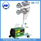 Lámpara de haluro metálico Torre de la luz del motor diesel