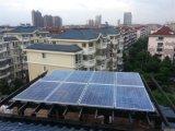 10kw dirigem o sistema de energia solar para o telhado liso