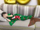 Оптовый ребенок ягнится одеяло кабеля Mermaid рождества