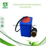 pak van de Batterij van het Lithium 14.8V 7800mAh het Ionen Navulbare Cilindrische voor Water Anlayzier