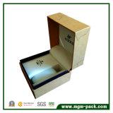 Rectángulo de reloj plástico modificado para requisitos particulares con el embalaje de papel