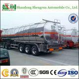 Remorque de /Tank /Tanker de pétrole brut/de camion-citerne remorque liquide semi