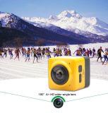 Миниая камера действия спортов камера 360 градусов с Строить-в WiFi с супер одичалым объективом угла