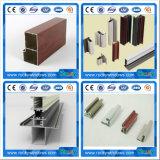 Hotsale profil de guichet en aluminium de bâti d'extrusion de 6000 séries