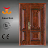 Сталь одно и половинная дверь для входа дома