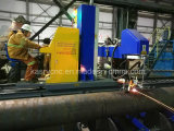 Corte del plasma del tubo del CNC del diámetro grande de la tubería de Oil&Gas y máquina de Beveler