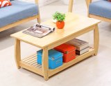 Mesa de madeira de pinheiro sólido Mesa de moda de sala de estar moderna (M-X2039)