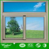 Профессиональное горизонтальное сползая алюминиевое окно от Китая