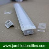 U-Form vertiefte LED-Aluminiumprofil für LED-Band-Licht