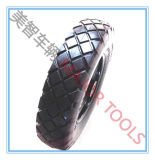 Due tipi rotella del camion di mano della gomma piuma dell'unità di elaborazione del reticolo 4.00-8 del diamante