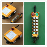 Controlador remoto de la Serie F24 12 Botón de doble velocidad inalámbrico Industrial