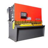 Machine de tonte de massicot hydraulique de commande numérique par ordinateur (QC12K-10X2500mm)
