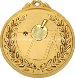 7cm Table Tennis Series Medal