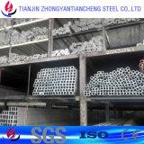6063 pipes rondes d'extrusion en aluminium de section/tube en stock en aluminium