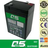 6V4.0AH, VRLA, luz Emergency, AGM, UPS, potência do som do alarme da segurança, bicicleta do brinquedo do equipamento, bateria Emergency do carro de RC