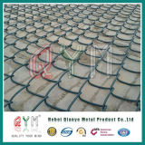 建物のためのプラスチック上塗を施してある網の塀ロールまたはチェーン・リンクの塀