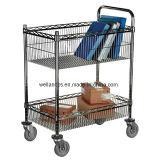Регулируемая вагонетка /Basket шкафа корзины металла для архива/бумажного хранения (TR753590A2CW)
