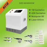 8 da cavitação magro do punho 5 do laser 650nm da tela de toque 6 da polegada equipamento de levantamento principal H-1000b da face do RF