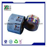 中国の製造者によってカスタマイズされるプラスチック収縮の覆いのびんのラベル