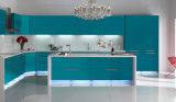 Gabinete de cozinha elevado do lustro da porta da laca (zz-068)